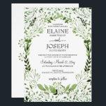 "Glam Greenery wedding invitations<br><div class=""desc"">Glam Greenery wedding invitations,  leafy wedding invitations for greenery wedding</div>"