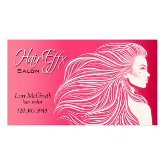 Gimme awesome business cards Hair salon business cards