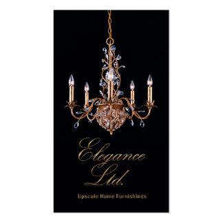 """Glam Home Decor"" - Home Stager, Interior Designer Business Card"