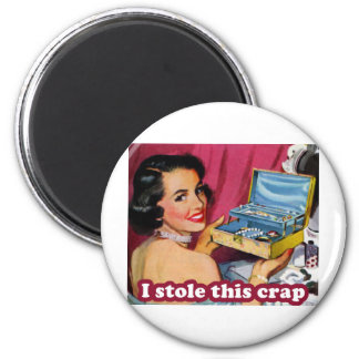 Glam Kleptomania 2 Inch Round Magnet