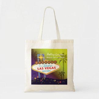 Glam Las Vegas Wedding Maid of Honor Gift Tote Bag