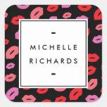 Glam Lip Print II Sticker