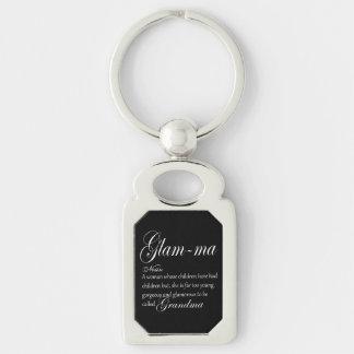 GLAM MA grandma definition Keychain