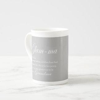 GLAM MA grandma definition Tea Cup