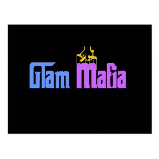 Glam Mafia Postcard