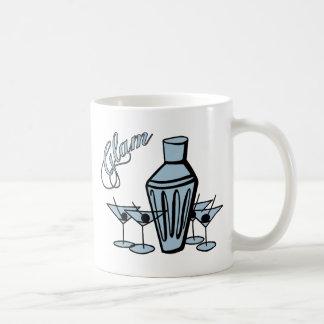 Glam Martini Mix - Blue Coffee Mug