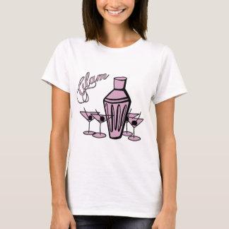 Glam Martini Mix - Pink T-Shirt