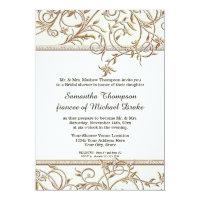 Glam Old Hollywood Regency Pink Bridal Shower Card (<em>$2.43</em>)