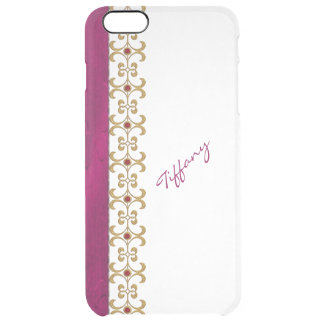 Glam Orchid and Gold Jewel Look iPhone 6 Plus Case