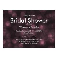 Glam Romantic Lights Bridal Shower Invite (<em>$2.27</em>)