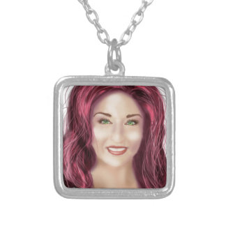 Glam Squad Silver Plated Necklace