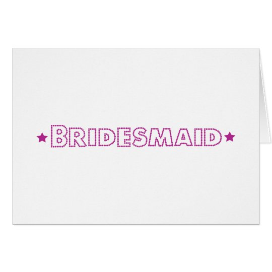 Glam Wedding Card