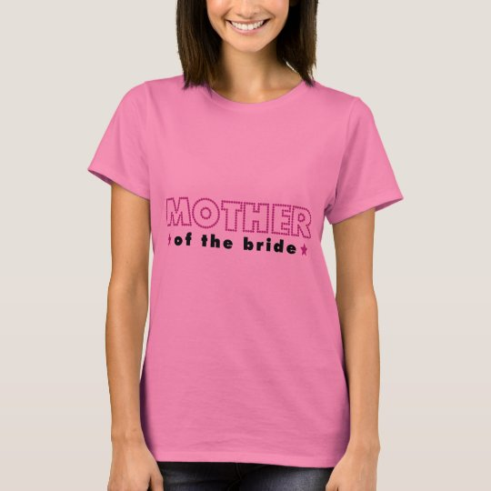 Glam Wedding Mother of the Bride T-Shirt