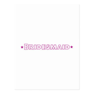 Glam Wedding Postcard