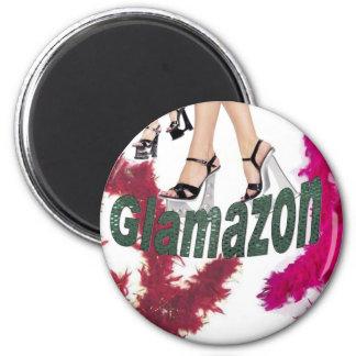 Glamazon 2 Inch Round Magnet