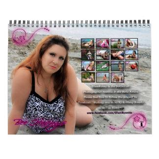 Glambunny 15 month 2016-2017 Calendar