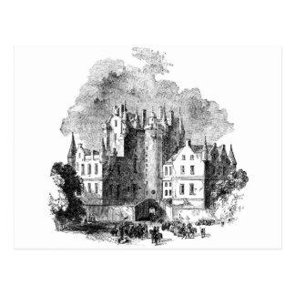 Glamis Castle Postcard