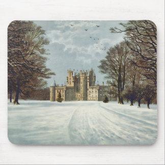 Glamis Castle Scotland Mouse Pad