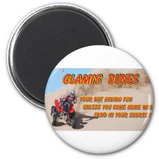 GLAMIS DUNES 2 INCH ROUND MAGNET