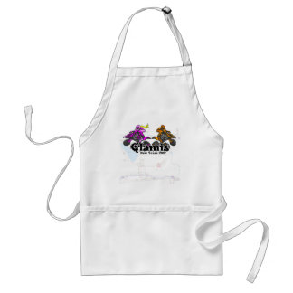 Glamis Newyears 07 Clr Adult Apron