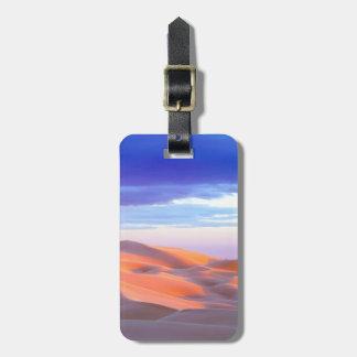 Glamis Sand Dunes at sunset Luggage Tag