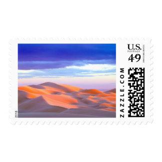 Glamis Sand Dunes at sunset Postage