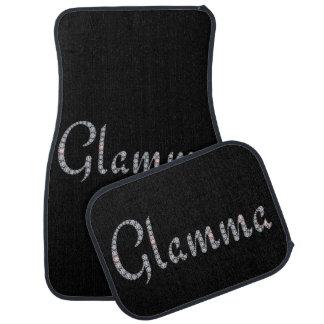Glamma bling car floor mats