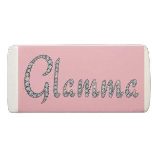 Glamma bling design eraser