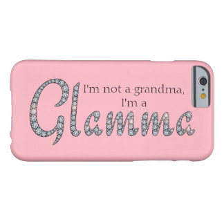 Glamma bling el caso iphone6 funda de iPhone 6 barely there