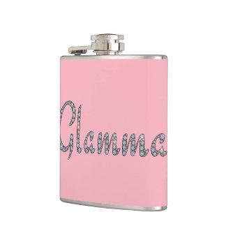 Glamma bling flask