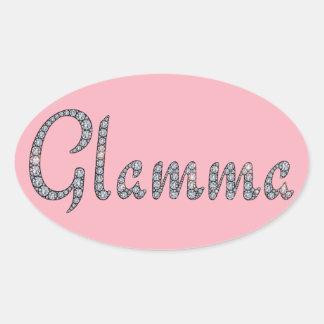 Glamma bling sticker