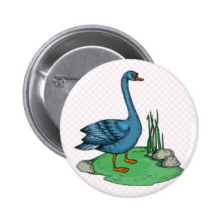 Glamma Goose Pinback Buttons