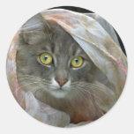 Glamor Puss Stickers