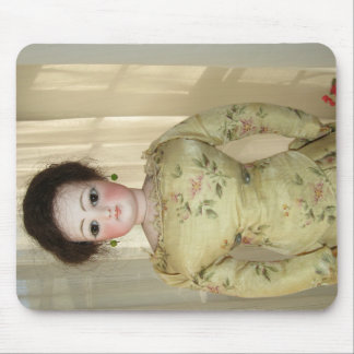 Glamorous Antique French Fashion Doll Mousepad