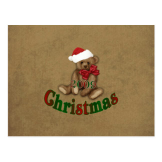 Glamorous Christmas 2009 Postcard