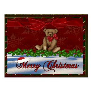 Glamorous Christmas Postcard