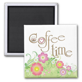glamorous Coffee time Magnet