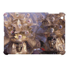 Glamorous Couple at the Carnival of Venice, Italy Case For The iPad Mini