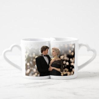 Glamorous Couple with Twinkling Bokeh - Lovers Mug