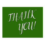 """[ Thumbnail: Glamorous & Elegant """"Thank You!"""" Postcard ]"""