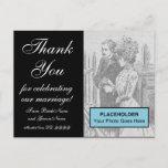 """[ Thumbnail: Glamorous & Fancy """"Thank You"""" Postcard ]"""