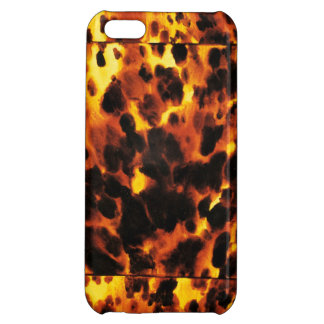 Glamorous Faux Tortoise Shell iPhone Case iPhone 5C Covers