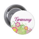 Glamorous flowers Grammy Pin