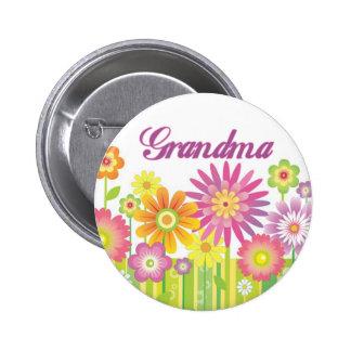 Glamorous flowers Grandma Button