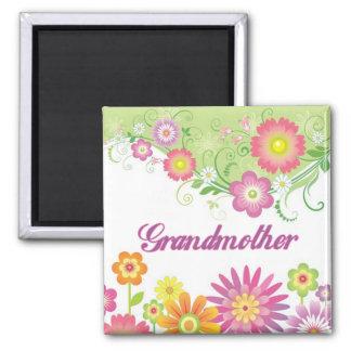 Glamorous flowers Grandmother Magnet