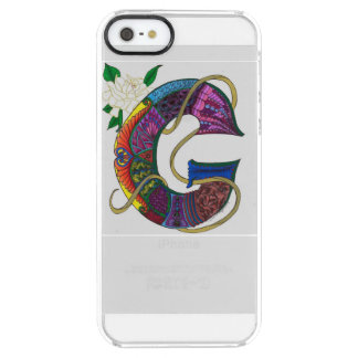 """Glamorous G"" Monogrammed iPhone Case"