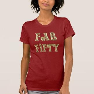 Glamorous Gold Fab Fifty Shirt