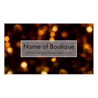 Glamorous Gold Glow Elegant Soft Shimmer Boutique Business Cards