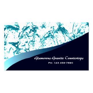 Glamorous Granite Countertops Business Card