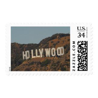 Glamorous Hollywood California Postage